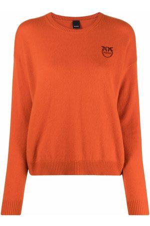 Pinko Jersey de cachemira con logo bordado