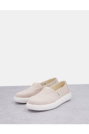 TOMS Zapatos planos sostenibles de lona Alpargata Mallow Earthwise exclusivos de