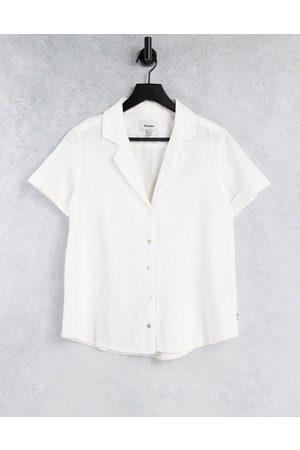 Rhythm Camisa de playa blanca clásica de