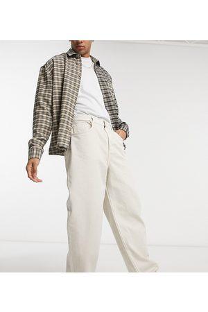 Reclaimed Vaqueros holgados color estilo años 90 de Inspired-Blanco