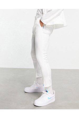 ASOS Pantalones de vestir capri ultrabrillante de corte tapered de (parte de un conjunto)