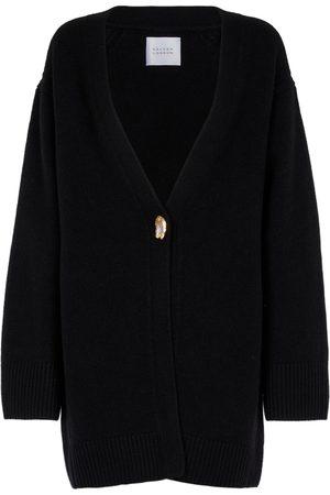 GALVAN Mujer Chaqueta de punto - Cárdigan de lana merino y cachemir