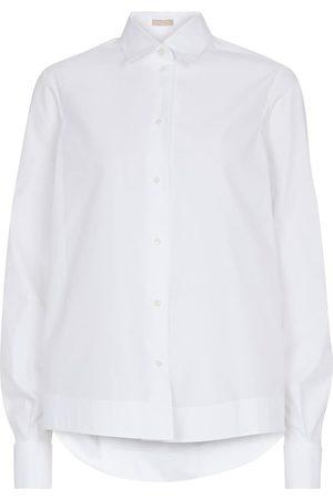 Alaïa Camisa de popelín de algodón