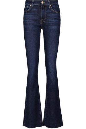 7 for all Mankind Jeans flared Bootcut de tiro medio