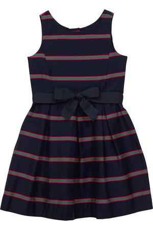 Ralph Lauren Vestido de algodón a rayas