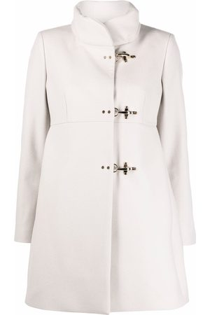 FAY Felted wool toggle-fastening coat