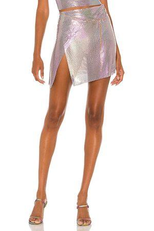 Poster Girl Falda winona en color lavanda talla L en - Lavender. Talla L (también en XS, S, M).