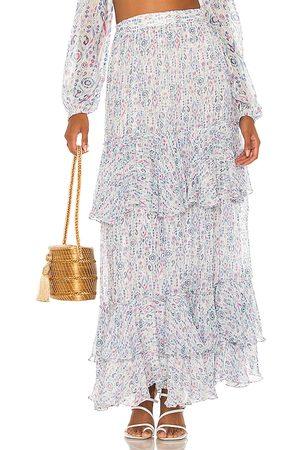ROCOCO SAND Falda lada en color talla L en - Blue. Talla L (también en XS, S, M).