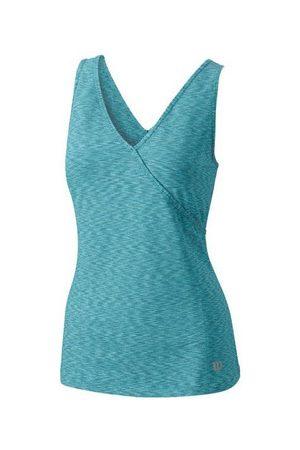 Wilson Camiseta tirantes CAMISETA STRIATED WRAP EASTERN SHORELINE para mujer