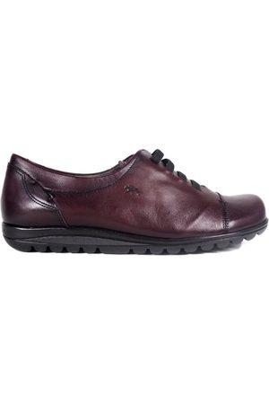 Fluchos Mujer Oxford y mocasines - Zapatos Mujer Zapatos 8876 Burdeos para mujer