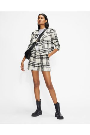 Ted Baker Mujer De entretiempo - Cropped Jacket With Exaggerated Shoulder