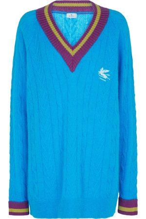 Etro Mujer Jerséis y suéteres - Jersey en mezcla de mohair