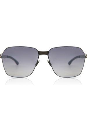 Ic! Berlin Hombre Gafas de sol - Gafas de Sol MB 04 White Pop-Graphite