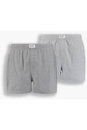 Levi's Hombre Calzoncillos y Boxers - Bóxer básico de ®: paquete de 2 / Asphalt