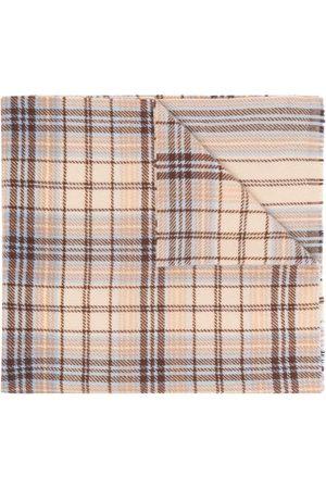 Acne Studios Bufandas y Pañuelos - Tartan logo scarf