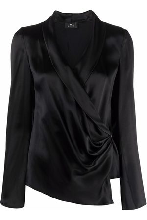 Etro Mujer Tops - Wrap v-neck top