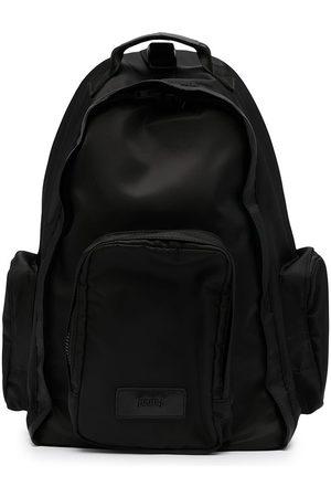 JUUN.J Hombre Mochilas - Solid-colour sling backpack