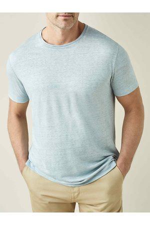 Luca Faloni Camiseta de lino claro