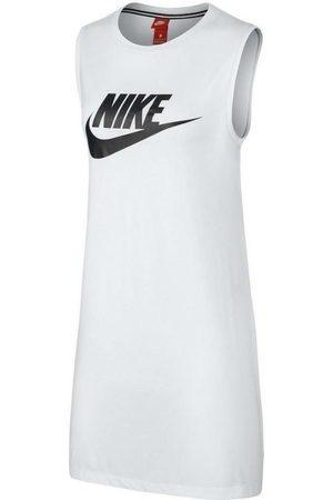 Nike Vestido SPORTSWEAR VESTITO BIANCO para mujer