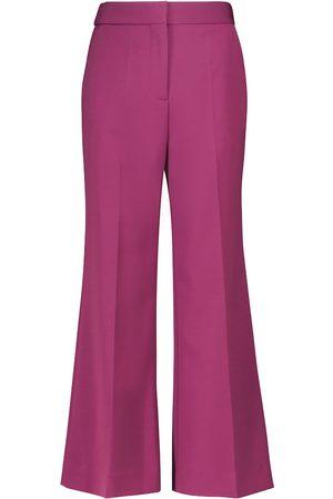 Victoria Victoria Beckham Pantalones anchos de tiro alto