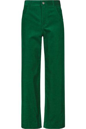 Loro Piana Pantalones de pana de algodón elástico