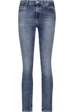 AG Jeans Mujer Cintura alta - Jeans Mari de algodón elástico tiro alto