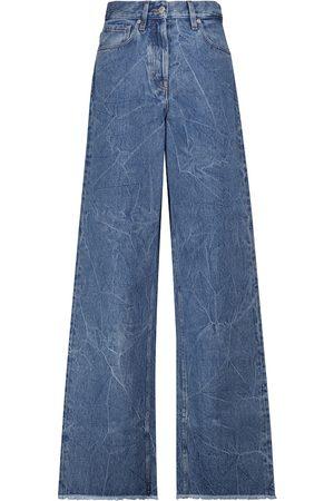 DRIES VAN NOTEN Jeans anchos de algodón
