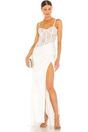 Katie May Mujer Largos - Vestido largo reina en color talla L en - . Talla L (también en M, S, XL, XS).