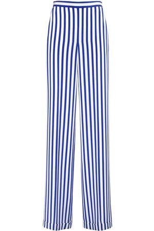 Ralph Lauren Mujer Pantalones y Leggings -   Mujer Pantalones De Crepé De Seda De China Estampados /blanco 2