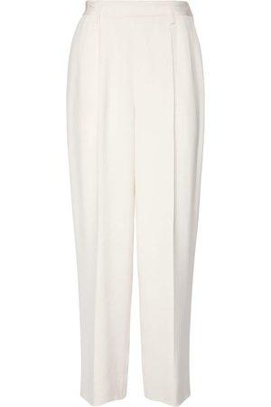 Ralph Lauren   Mujer Pantalones De Cady De Seda Pierna Recta 2