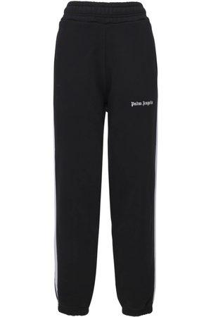 Palm Angels   Mujer Pantalones Deportivos De Algodón Jersey Xxs