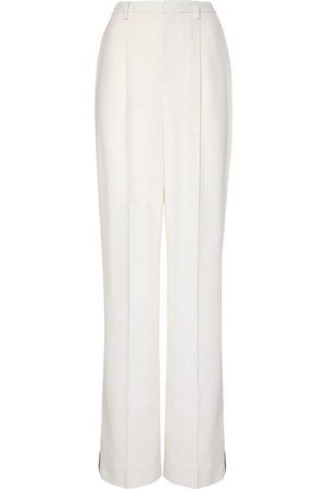 Ralph Lauren Mujer Pantalones y Leggings -   Mujer Pantalones De Esmoquin De Crepé De Lana 2