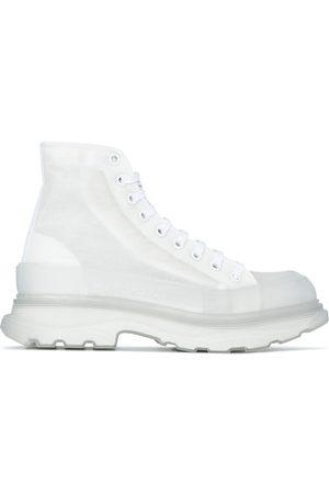 Alexander McQueen Tread Slick ankle boots