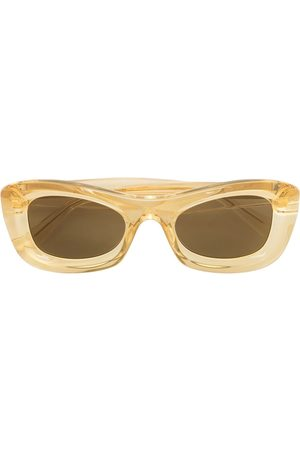 Bottega Veneta Gafas de sol con montura rectangular