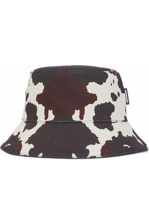 Burberry Cow-print bucket hat