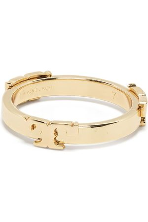 Tory Burch Mujer Anillos - T-logo stackable ring