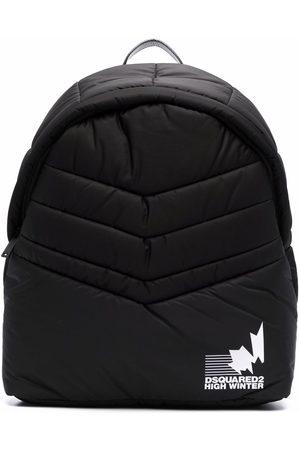 Dsquared2 Padded logo-print backpack