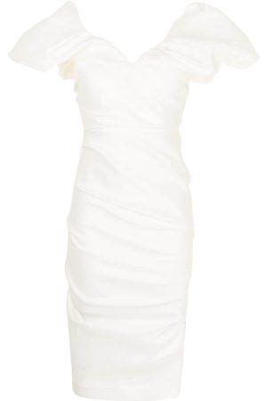 RACHEL GILBERT Mujer Cóctel - Vestido con diseño fruncido