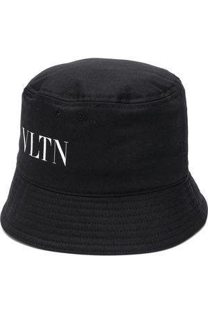 VALENTINO Sombrero de pescador con logo estampado