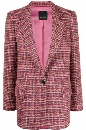Pinko Mujer Blazers - Blazer de tweed con botones