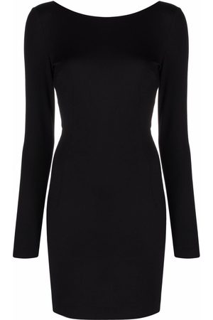 Dolce & Gabbana Milano open-back fitted dress