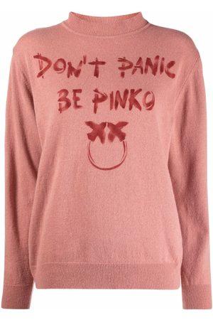 Pinko Jersey de punto fino con eslogan