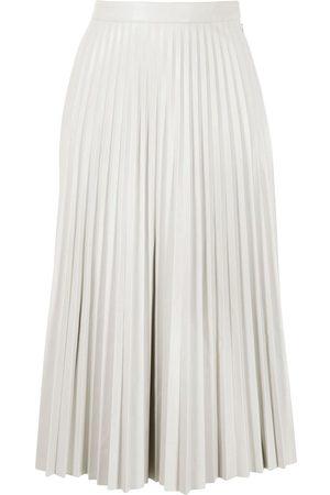 PROENZA SCHOULER WHITE LABEL Mujer Plisadas - Falda de piel artificial plisada