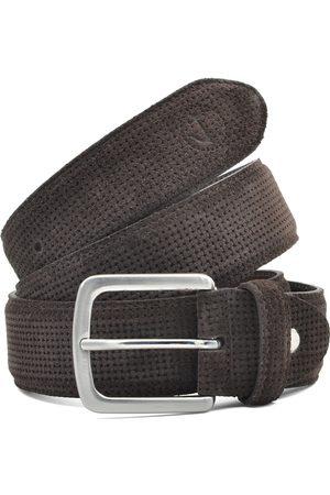 Seajure Cinturón Cinturón de ante para hombre