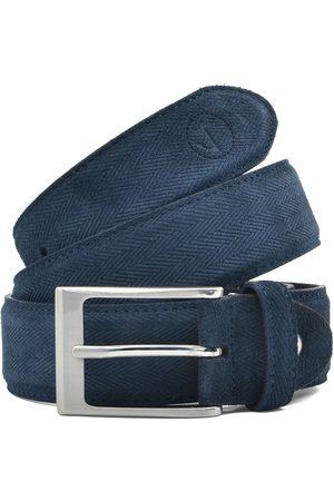 Seajure Cinturón Cinturón de ante marino para hombre