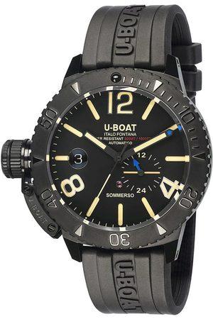 U-BOAT Reloj analógico 9015, Automatic, 46mm, 30ATM para hombre