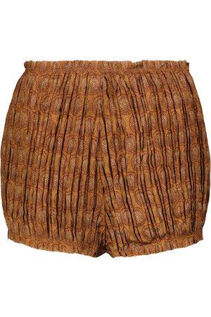 Khaite Mujer Pantalones cortos - Shorts Hilary de tiro alto