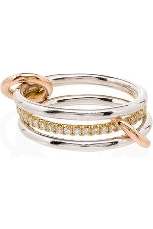 SPINELLI KILCOLLIN Mujer Anillos - Anillo Sonny con diamantes en oro blanco y oro amarillo de 18kt