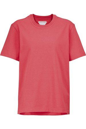Bottega Veneta Camiseta de punto fino de algodón