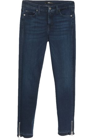 7 for all Mankind Mujer Cintura alta - Pantalones vaqueros
